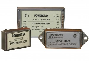 PX Range of Mil Spec DC-DC Converters