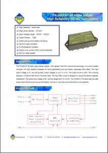 PX28512T-30 and PX28515T-30 Datasheet