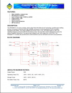 PX3028512T-15 and PX3028515T-15 Datasheet