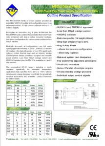 Medistax® Datasheet