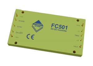 FC501 - 500W Fuel Cell DC-DC Converter Brick