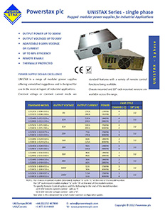 Single Phase Datasheet