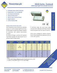 Click here for Powerstax E0131 Series datasheet