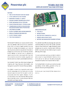 To download the datasheet for the FC1001, please click the datasheet image