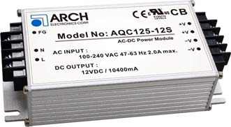 Click here for datasheet on AQC125 series